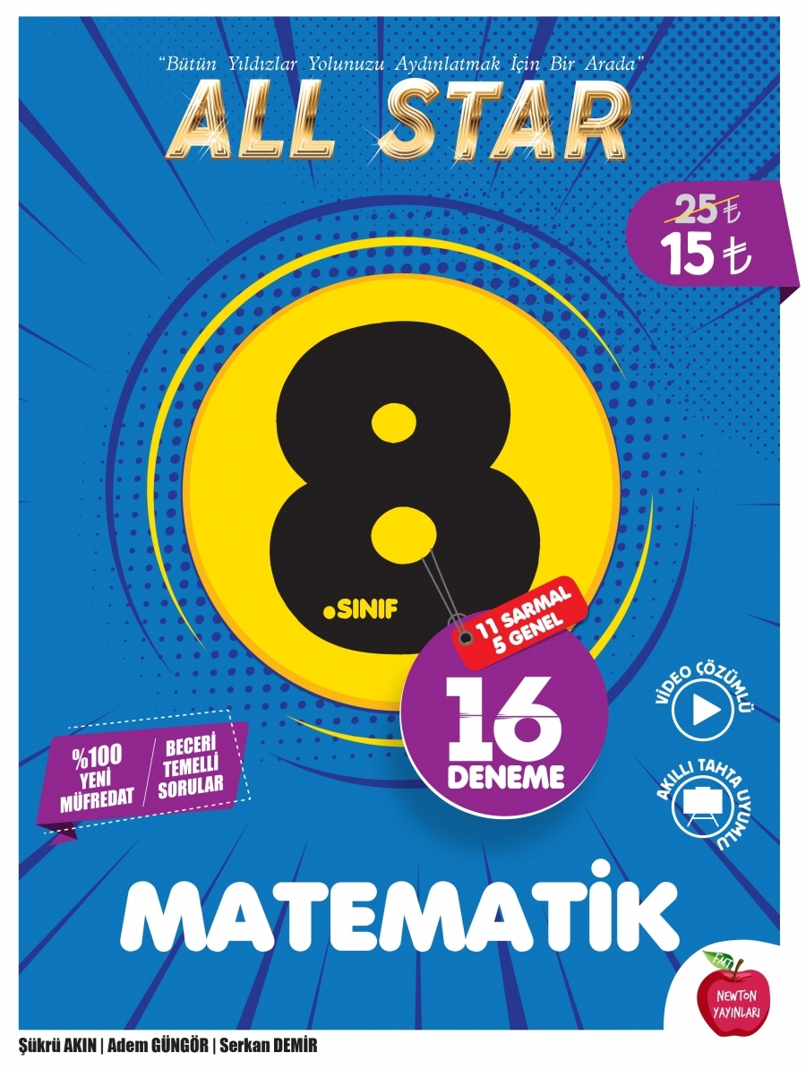 8.SINIF  ALL STAR MATEMATİK DENEME