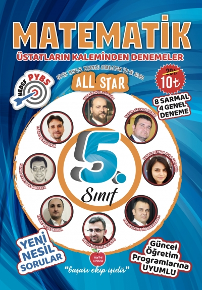 5.SINIF ALL STAR MATEMATİK DENEMELER