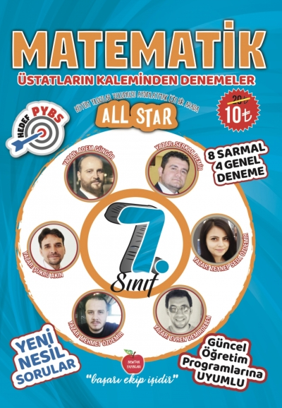 7.SINIF ALL STAR MATEMATİK DENEMELER